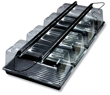 "Use 2 x 48"" LED Strip Lights to perfectly light four 1020 trays. For maximum performance use our SunBlaster NanoDomes."