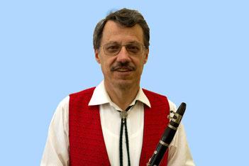 Arend Solte, 1. Klarinettist, Saxophonist und unser Kassierer
