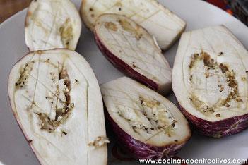 Pate de Berenjenas con aceite de oliva virgen extra Tierras de Tavara Premium