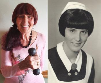Meine Mum heute und 1965 als Dipl.-KS