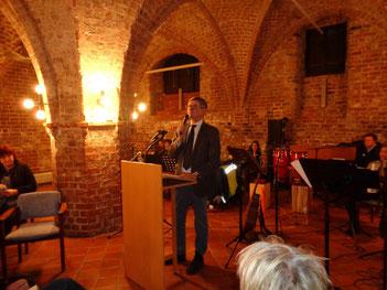 Der Vorsitzende der Possehl-Stiftung - Herr Max Schön