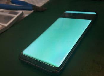 Galaxy S9画面表示不良