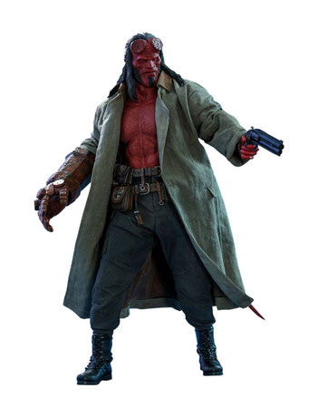 1/6,Hot Toys, Sideshow, Hellboy,Hellboy  Call of Darkness,
