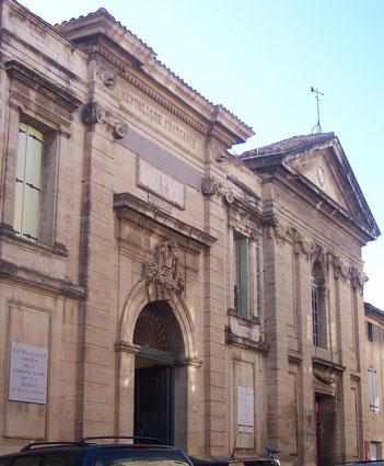 l'ancine Collège de Pézenas