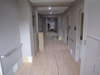住宅部分 共用廊下