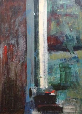 Hilde Cuyt kunstenares, schilderij te koop.