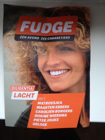 Spelen bij Fudge in Theater Diligentia met Matroesjka, Carlolien Borgers, Dorine Wiersma, Pieter Jouke en Oeloek