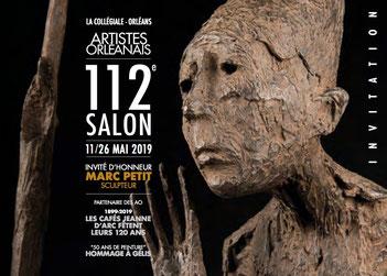 Claude Rossignol - Affiche Salon des Artistes Orléanais 2019