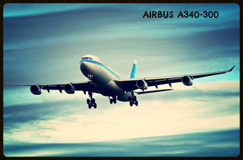 Kuwait Airways A340