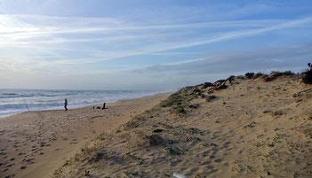 …ging's zum Strand