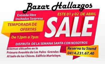 Bazar Hallazgos - Especial Semana Santa