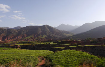 "Ait Bouguemez, the ""Happy Valley"", is situated in the Central Atlas Mountains"