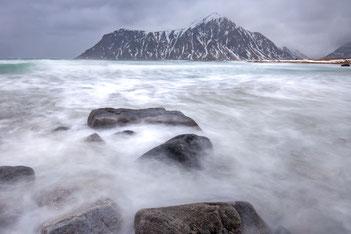 Wasser neblig fotografieren