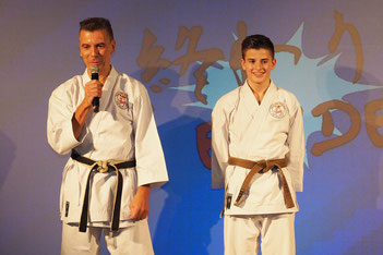 Karate Erlach, John Görmann, Colin Görmann
