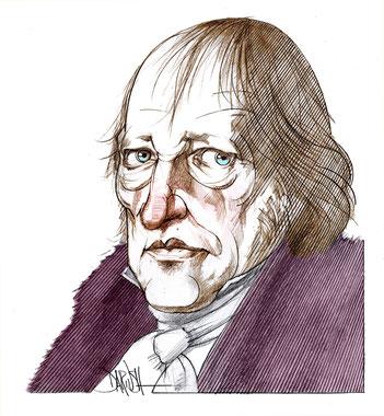 """G.W.F. Hegel (1770-1831) è l'autore della """"Fenomenologia dello Spirito"""", pilastro del pensiero occidentale"""