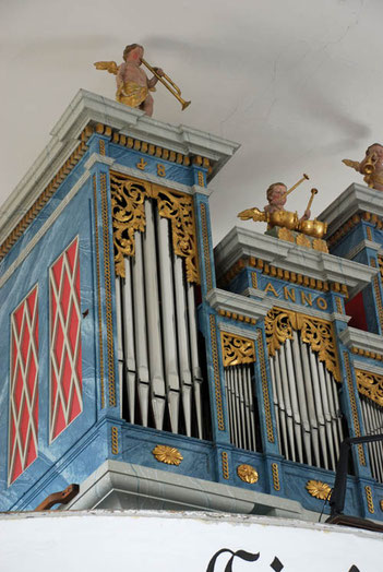 Evangelische Kirche Balf/Wolfs - erbaut von Philipp König - 1822