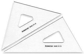 三角定規(2組セット)