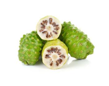 Die Noni-Frucht mit wichtigen Nährstoffen