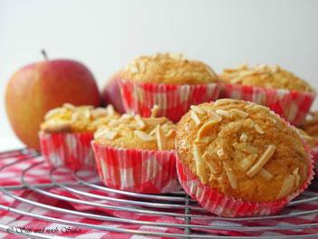 muffin, apfel, apfelmuffin, rezept, einfache rezept,