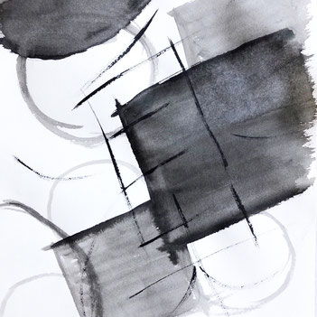 Japanese Calligraphy Art by Azumi Uchitani