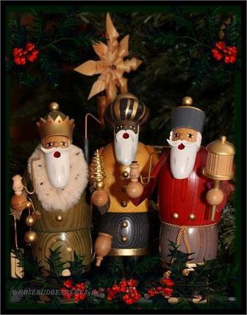 aus der KWO in Olbernhau kamen Balthasar, Melchior und Casper