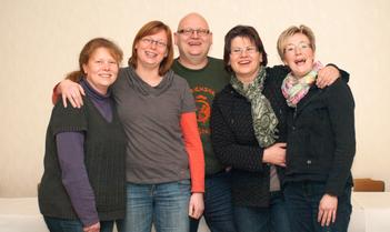 v.l.n.r.: Nicole Gödde, Alexandra Essel, Stephan Goß, Elke Krause, Bernadette Frerich