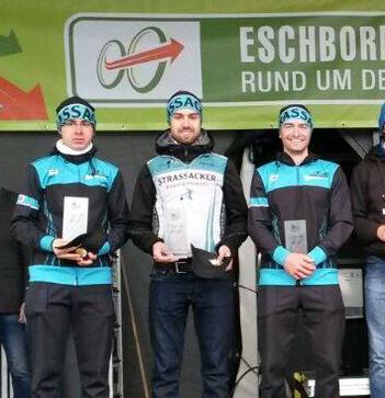 Team Strassacker bei Eschborn-Frankfurt