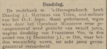 De courant 29-01-1908