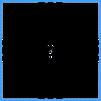 Bild: Icon Zielscheibe mit Fragezeichen