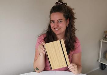 De bamboe hardcover van Bambook