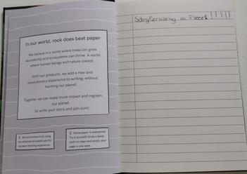 De schrijfervaring op MOYU steenpapier is top