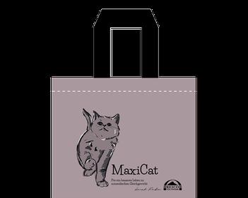 Für Katzenfreunde haben wir eine schicke Tasche mit Reico Katze Feli designt. Genau das richtige für den Catwalk!