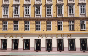 Ort für Lesungen in Wien: das Café Museum