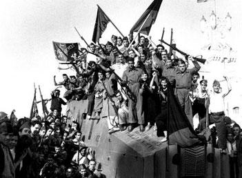 Medlemmer af  CNT / FAI , Spanien 1936