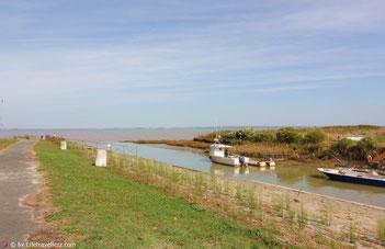 Blick auf Gironde