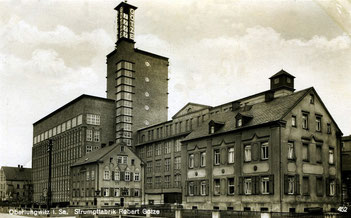 Strumpffabrik R. Götze Oberlungwitz (Quelle: E.Neubert Chemnitz)
