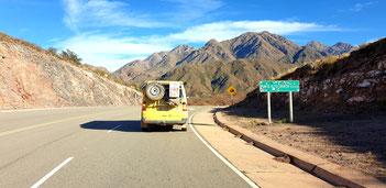 Unterwegs auf der Ruta 40