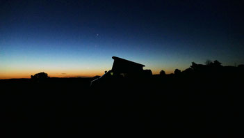 Einer von unzähligen wunderschönen Sonnenuntergängen
