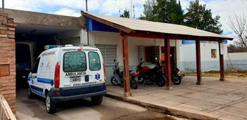 Das Ärztehaus in Sañagosta