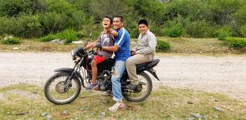 Flavio mit seinen Jungs Lautaro und Mateo