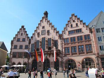 place Römer Francfort vieille-ville