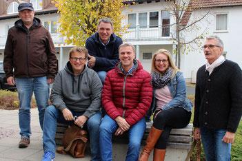 Ihre Ansprechpartner am Info-Wochenende sind (v.l.): Hanno Steinbach, Karsten Mrzyglod, Andreas Bognanni, Klaus Wiek, Manuela Hedler und Bernd Kirchner.