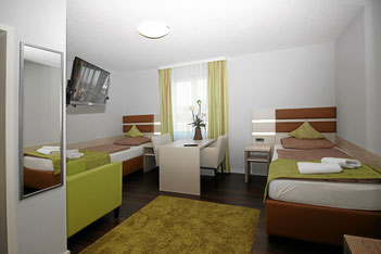 Zweibett-Zimmer Premium mit Klimaanlage