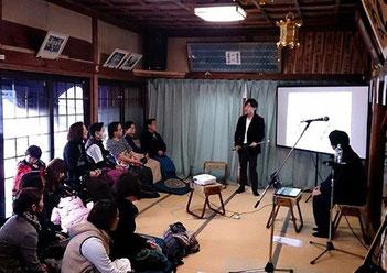 東日本大震災追悼、復興祈願 チャリティーライブ&トークセッション のようす