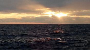 Sonnenaufgang vor Bari