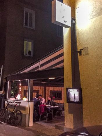 Restaurant Kokoro from the outside.