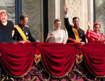 paolo al matrimonio del Principe