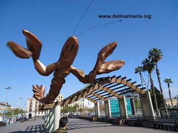 Набережная Барселоны Весёлая креветка