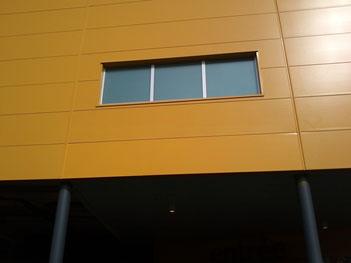 Rénovation des panneaux sandwich aluminium extérieur du magasin Ikéa de Toulouse