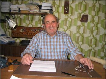 Erich Kühn wird neuer Brunnenmeister von Malsch am 1.11.1973